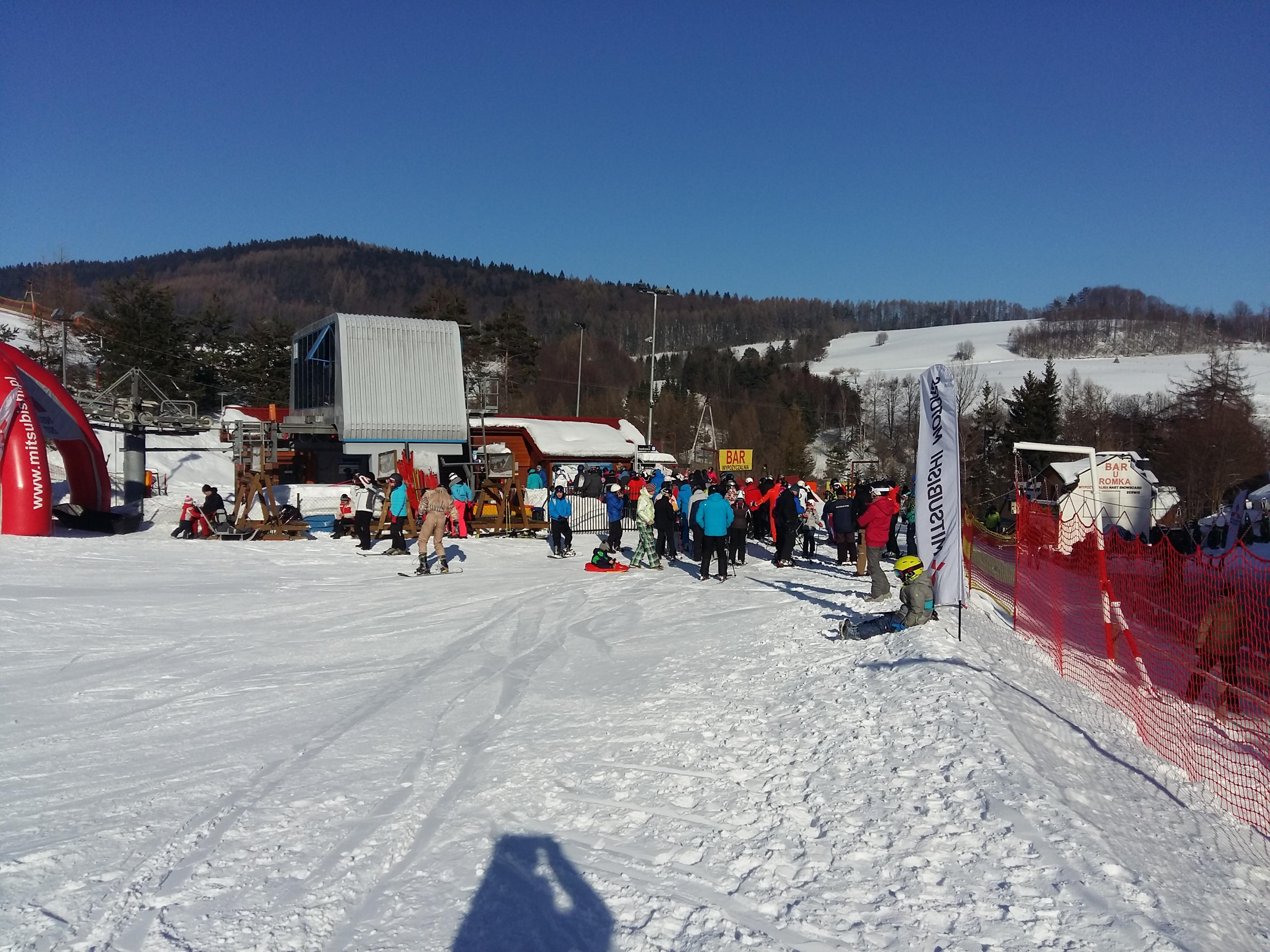 Zimą - zapraszamy na wyciągi